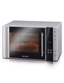 MICRO-ONDES SEVERIN MW7825 - AVEC GRILL 900 W - ARGENT