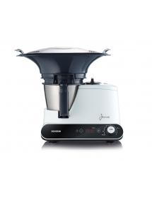 Robot culinaire cuiseur SEVERIN KM 3895 noir-blanc